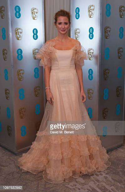 Millie Mackintosh attends the EE British Academy Film Awards gala dinner at The Grosvenor House Hotel on February 10, 2019 in London, England.
