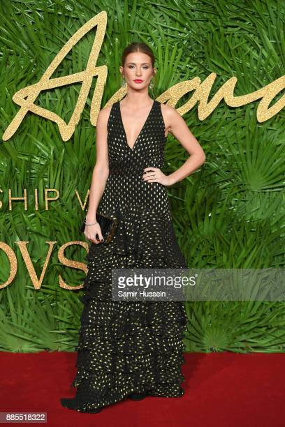 Millie Mackintosh attends The Fashion Awards 2017 in partnership with Swarovski at Royal Albert Hall on December 4 2017 in London England