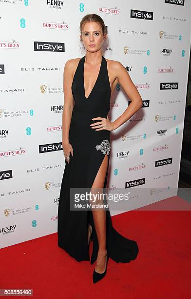 Millie Mackintosh attends the InStyle EE Rising Star PreBAFTA Party at 100 Wardour Street on February 4 2016 in London England