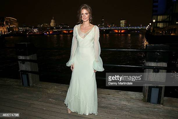 Millie Mackintosh attends the John Frieda VIP Cocktail party at Oxo Tower Wharf on February 12 2015 in London England