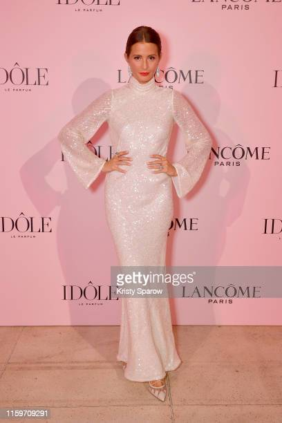 Millie Mackintosh attends the Lancôme announces Zendaya as face of new Idôle fragrance at Palais D'Iena on July 02 2019 in Paris France