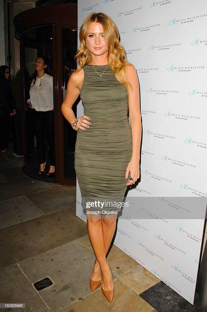 Millie Mackintosh attends the launch of Millie Mackintosh's Nouveau lashes at Sanctum Soho on September 18, 2012 in London, England.