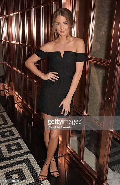 Millie Mackintosh attends the launch of the Millie Mackintosh Spring/Summer 2015 Collection at the Rosewood London on March 10 2015 in London England