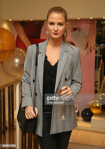 Millie Mackintosh attends the LBD by LKB cocktail launch party at LK Bennett on October 7 2014 in London England
