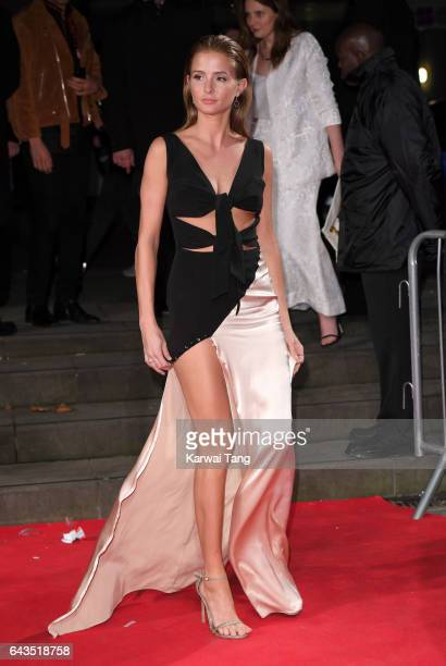 Millie Mackintosh attends The Naked Heart Foundation's London's Fabulous Fund Fair at The Roundhouse on February 21 2017 in London United Kingdom