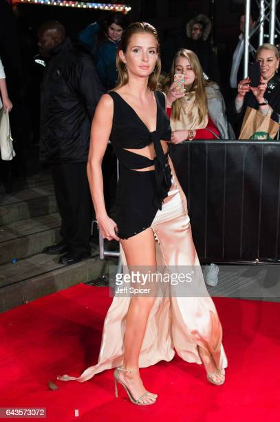 Millie Mackintosh attends The Naked Heart Foundation's London's Fabulous Fund Fair on February 21 2017 in London United Kingdom