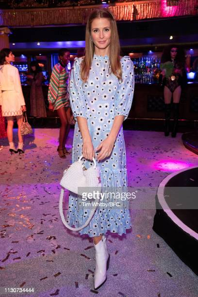 Millie Mackintosh attends the RIXO London Presentation during London Fashion Week February 2019 at the Café de Paris on February 19 2019 in London...