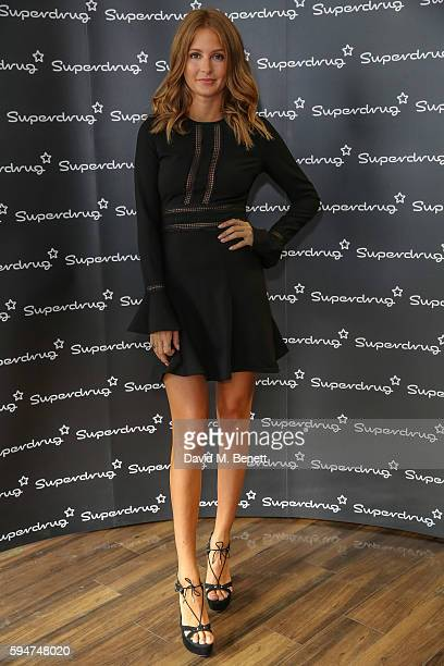 Millie Mackintosh collaborates With John Frieda to launch an Exclusive Range on August 24 2016 in London England