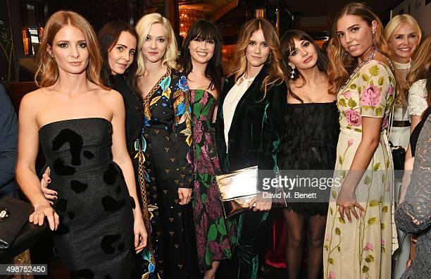 Millie Mackintosh, Julie Brangstrup, Portia Freeman, Daisy Lowe, Jade Williams, Zara Martin, Amber Le Bon and Amanda Cronin attend an after party...