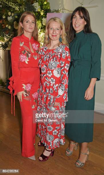 Millie Mackintosh Red editorinchief Sarah Bailey and Samantha Cameron attend the Red Smart Women Week Career Shifters Party at Asia House on...
