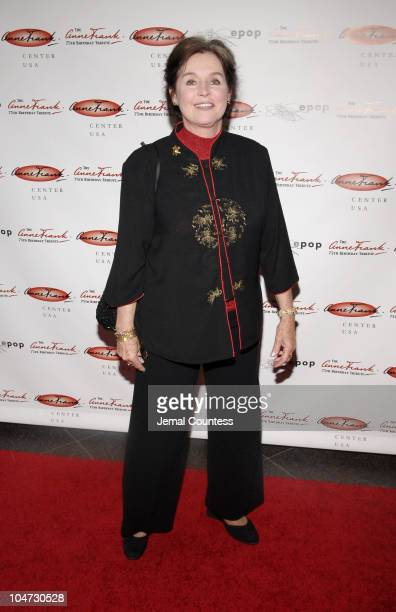 Millie Perkins during Anne Frank 75th Birthday Tribute Gala at Pier Sixty at Chelsea Piers in New York City New York United States
