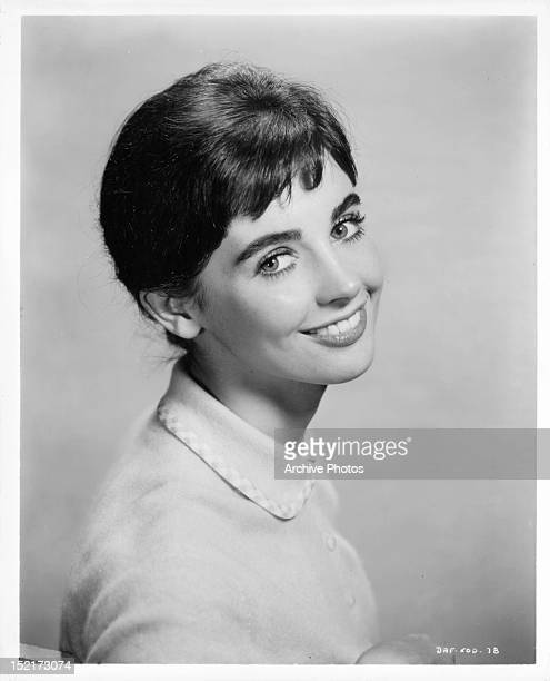 Millie Perkins publicity portrait for the film 'The Diary Of Anne Frank' 1959