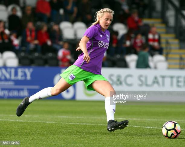 Millie Turner of Bristol City Women during Women's Super League 1match between Arsenal against Bristol City Women at Meadow Park Borehamwood FC on 08...