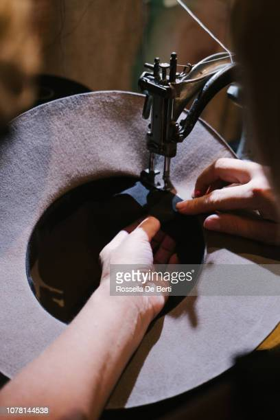 milliner creating hats - east village stock pictures, royalty-free photos & images