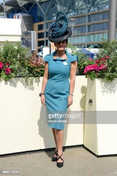 Milliner Ilda Di Vico attends day 2 of Royal Ascot at Ascot Racecourse on June 21 2017 in Ascot England