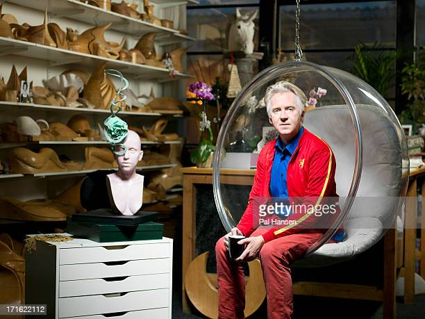 Milliner Philip Treacy is photographed the Times on December 7 2012 in London England