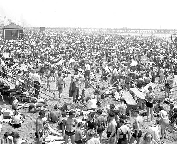 Million At Coney - Boardwalk and beaches at Coney Island wer