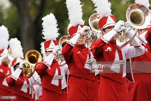 million dollar band brass section - marching band stock pictures, royalty-free photos & images