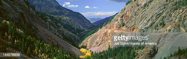 Million Dollar Highway San Juan National Forest Colorado