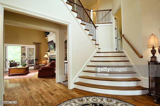 million dollar foyer - nook architecture stock pictures, royalty-free photos & images