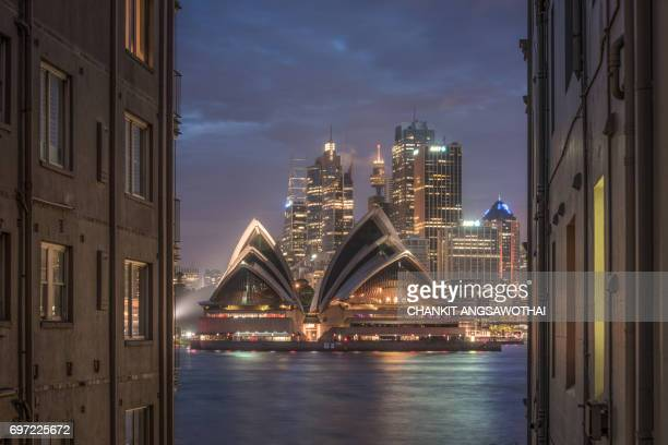 A million dollars view of the Sydney Opera House