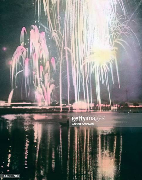 9 million people attended the exhibition and especially when the fireworks were on the Rheine or rather on the Rhine meadows This glittering...