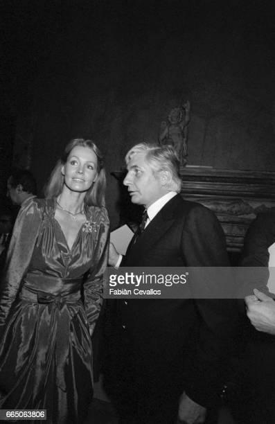 Millionaire Gunther Sachs With Wife Mirja