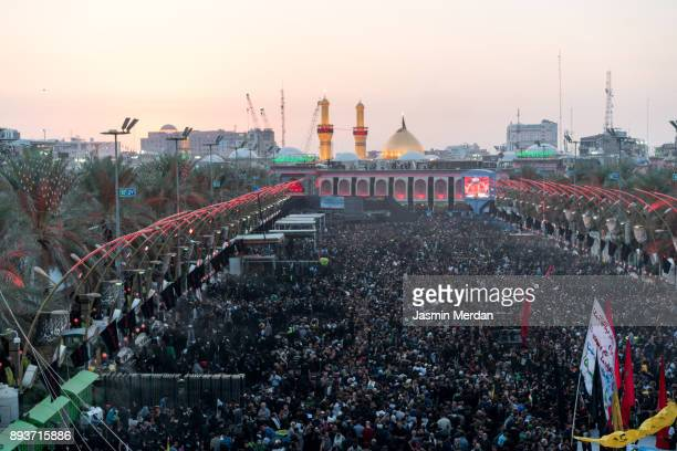 Millions of pilgrims in Karbala Shrine, Iraq