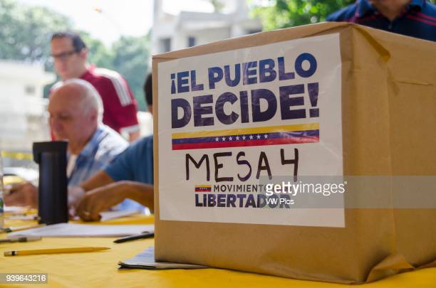 Millions of Venezuelans participated in a popular consultation this July 16 Convened by the Bureau of the Unit as established in Article 70 of the...