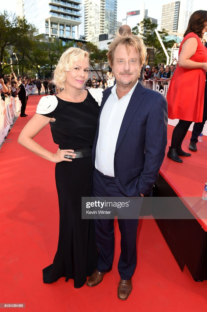 J. Mills Goodloe (R) and guest attend 'The Mountain Between Us' premiere during the 2017 Toronto International Film Festival at Roy Thomson Hall on September 10, 2017 in Toronto, Canada.