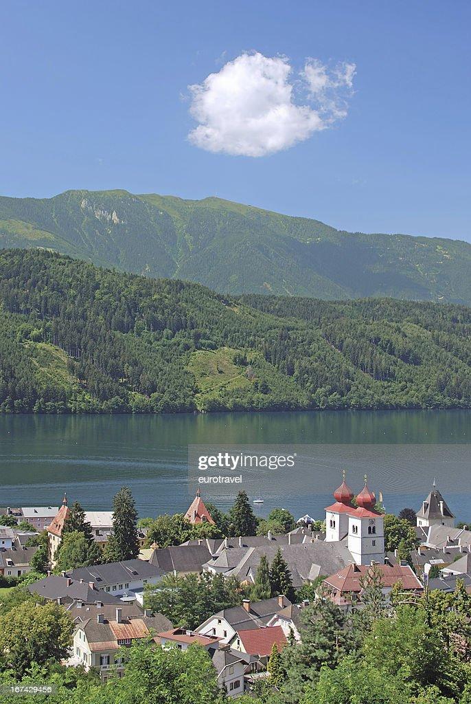 Millstatt,Carinthia,Austria : Stock Photo