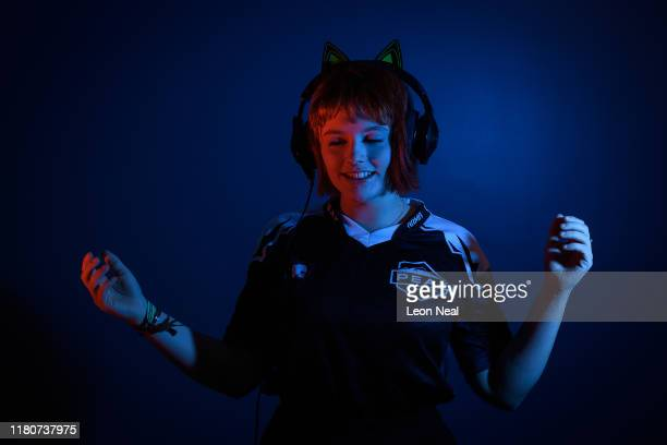 Millsy Moo from the Peak eSport media team poses for a portrait at the epicLAN esport tournament at the Kettering Conference Centre on October 12...