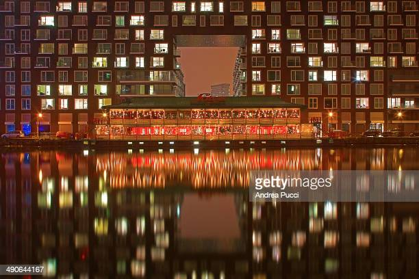 Millwall Dock is at Canary Wharf on the Isle of Dogs in London. The Dock is a commercial business district that includes office towers housing...