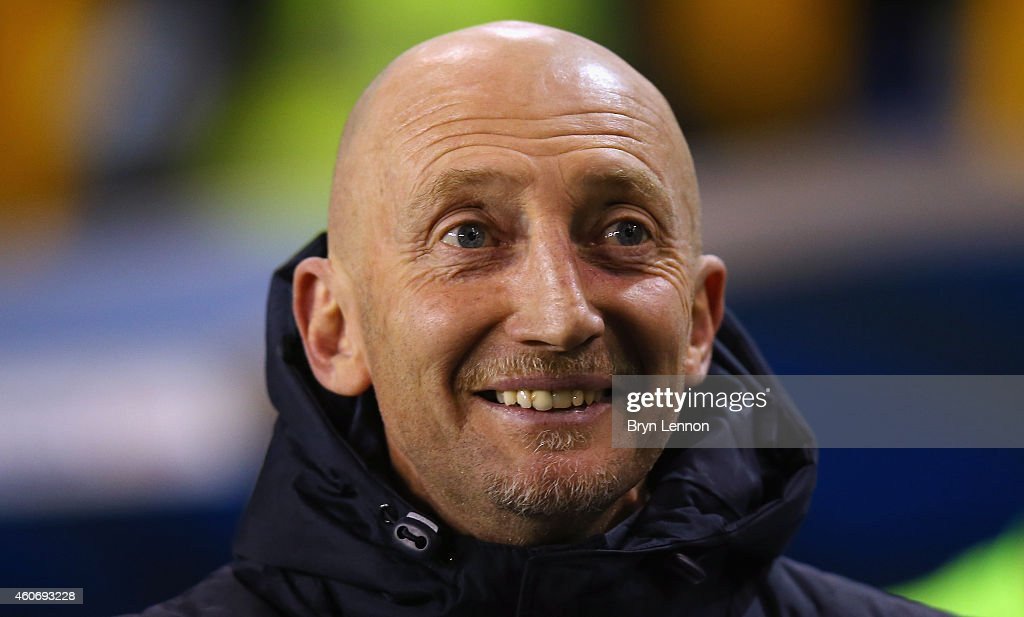Millwall Manager Ian Holloway looks on prior to the Sky Bet Championship match between Millwall and Bolton Wanderers at The Den on December 19, 2014 in London, England.