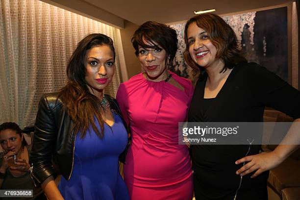 Milly Almodovar Thompson actress Selenis Leyva and Michelle Herrera Mulligan attend the Orange Is The New Black Season 3 special screening at Grand...