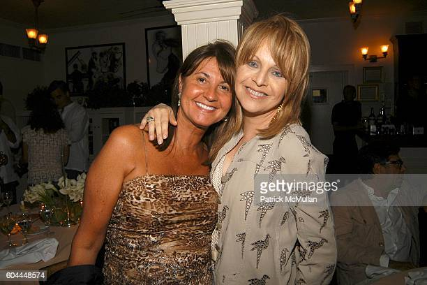 Milly de Cabrol and Claudia Cohen attend Private screening of Marie Antoinette followed by dinner at Savannah's at Southampton on August 28 2006