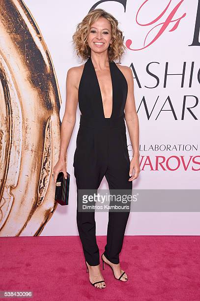 Milly designer Michelle Smith attends the 2016 CFDA Fashion Awards at the Hammerstein Ballroom on June 6, 2016 in New York City.