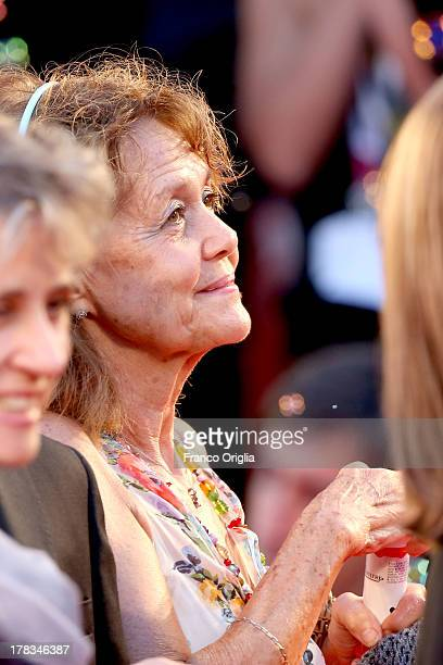 Milly Moratti wife of President of FC Internazionale Massimo Moratti attends the 'Tracks' premiere during the 70th Venice International Film Festival...