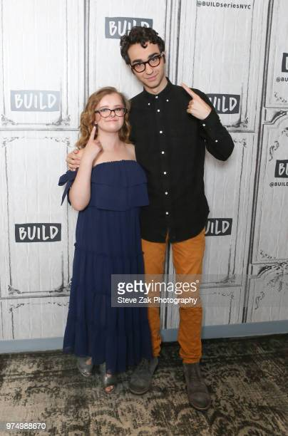 Milly Shapiro and Alex Wolff visit Build Series to discuss 'Hereditary' at Build Studio on June 14 2018 in New York City
