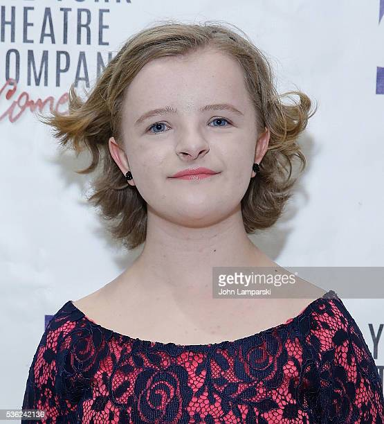 Milly Shapiro attends 'You're A Good Man Charlie Brown' opening night after party at Dylan's Candy Bar on May 31 2016 in New York City