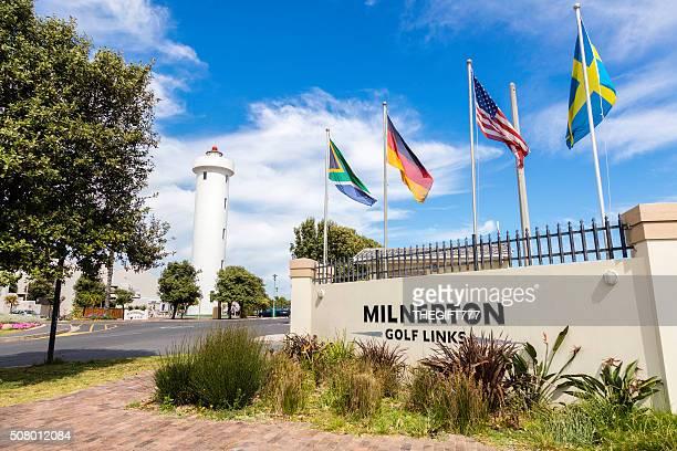 milnerton faro y club de golf en cabo la ciudad - woodbridge nueva jersey fotografías e imágenes de stock