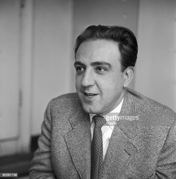 Milo Dor Austrian Author Photograph 1959 [Milo Dor sterr Schriftsteller Photographie 1959]
