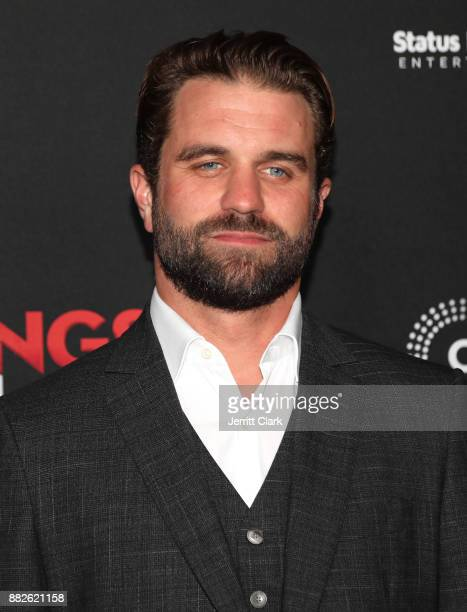 Milo Gibson attends Premiere Of Cinedigm's 'Gangster Land' at the Egyptian Theatre on November 29 2017 in Hollywood California