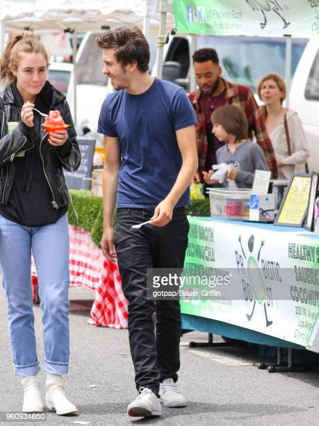 Milo Manheim is seen on May 20 2018 in Los Angeles California