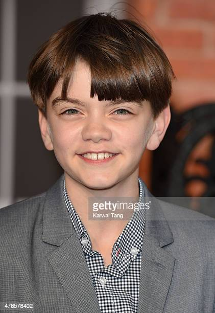 Milo Parker attends the UK Premiere of Mr Holmes at ODEON Kensington on June 10 2015 in London England