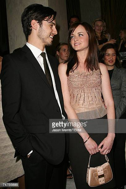 Milo Ventimiglia and Alexis Bledel at the Saks Fifth Avenue's Unforgettable Evening Benefit for EIF's Women's Cancer Research Fund Arrivals at Regent...