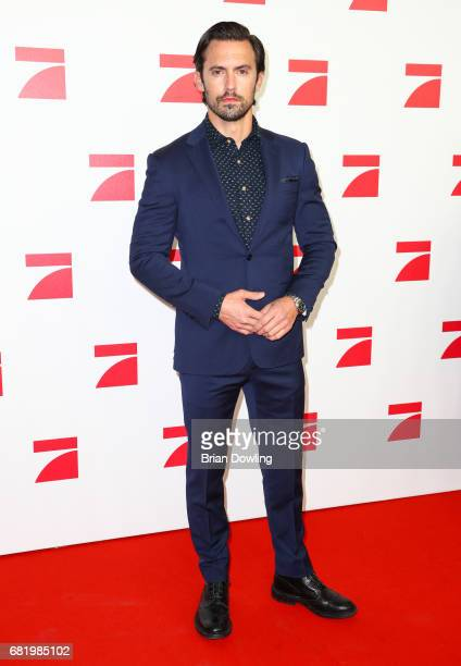 Milo Ventimiglia arrives at the premiere of the television show 'This Is Us Das ist Leben' at Zoo Palast on May 11 2017 in Berlin Germany