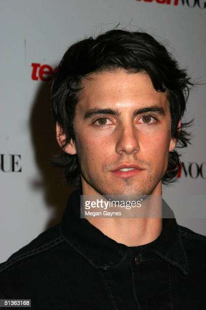 Milo Ventimiglia arrives at the Teen Vogue Young Hollywood Party at Chateau Marmont on September 23 2004 in Hollywood California
