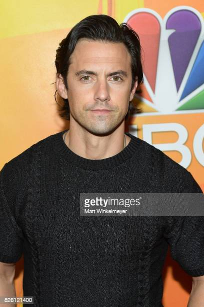 Milo Ventimiglia at the NBCUniversal Summer TCA Press Tour at The Beverly Hilton Hotel on August 3 2017 in Beverly Hills California