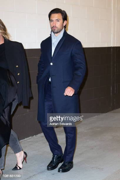 Milo Ventimiglia at the party for the premiere of Second Act on December 12 2018 in New York City